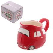 Red Retro Car Milk Jug