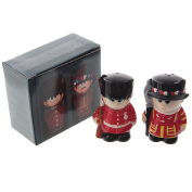 Ceramic Guardsman and Beefeater Salt and Pepper Set
