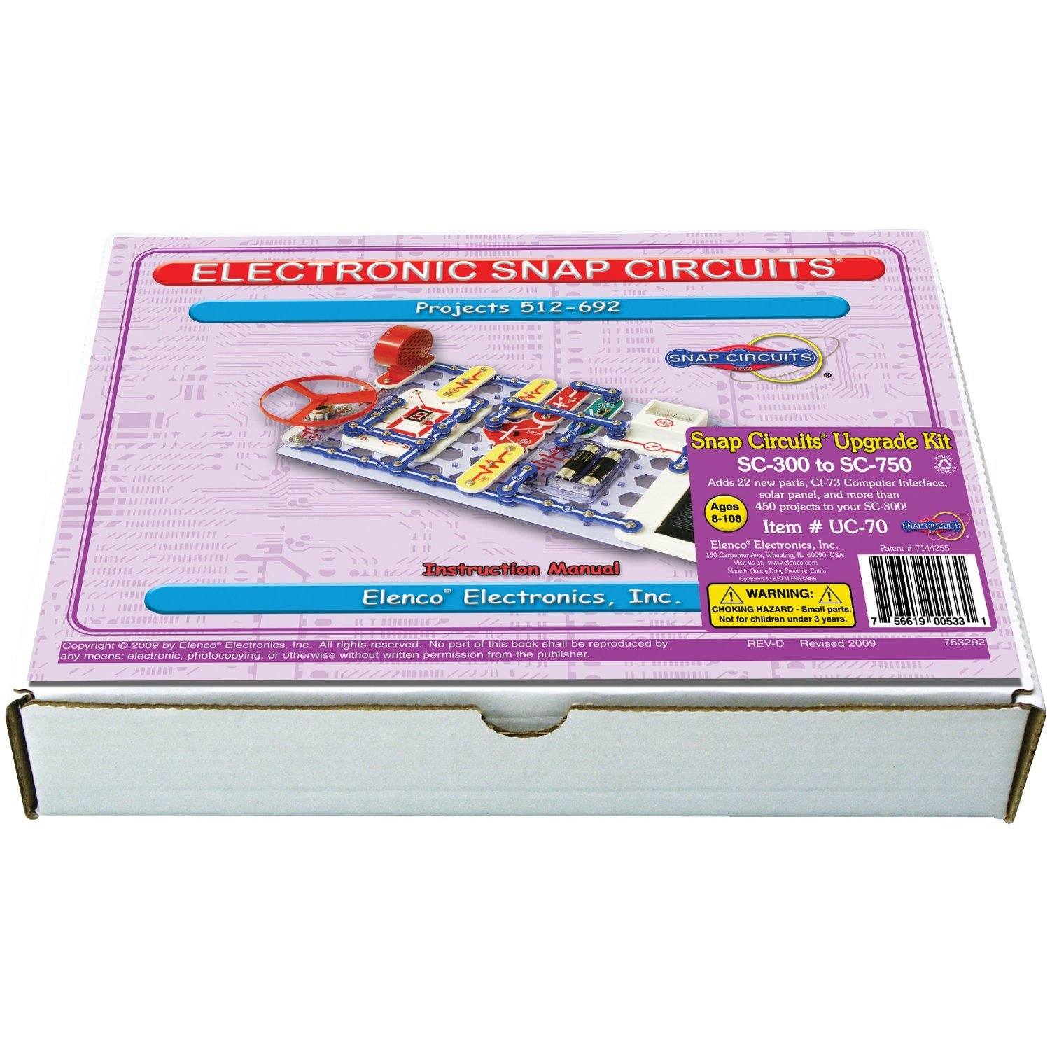 Snap Circuits Toys Buy Online From Pro 500in1 Sc500 S With Computer Inteface