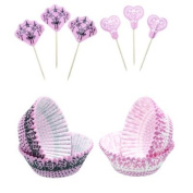 Sweetly Does It Cupcake Kit Lace 48PC