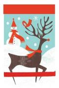 Reindeer Dash Mini Journal