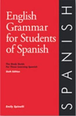 English Grammar for Students of Spanish - 5th Edition