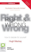 Right and Wrong [Audio]