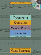 Thesaurus of Scales and Melodic Patterns for Guitar [With CD (Audio)]