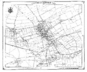 Driffield 1850 Heritage Cartography Victorian Town Map