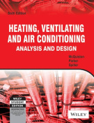 Heating,Ventilating and Air Conditioning Analysis and Design, 6th Edition