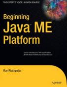 Beginning Java Me Platform