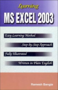 Learning Ms Excel 2003
