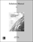 Solutions Manual to Accompany Principles of Corporate Finance