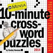 Mensa 10-Minute Crossword Puzzles Page-A-Day Calendar