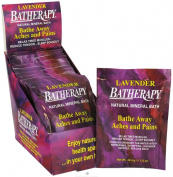 Queen Helene Batherapy Mineral Bath Salts, Lavender, 45ml (Pack of 12) [Packaging May Vary]
