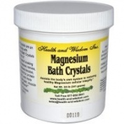 Health and Wisdom Magnesium Bath Crystals .75 grammes