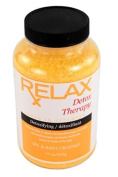 Detox Therapy Bath Crystals -19 Oz- Therapeutic Natural Vitamin Mineral Salts to Cleanse & Detoxify for Spa, Bath
