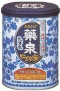 Yakusen Bath Roman ''Muddy Blue'' Japanese Bath Salts - 650g
