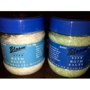 Royal Touch-bath salts (350g) jar- colours may vary
