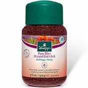 Kneipp Pure Bliss Mineral Bath Salt - Red Poppy 500g Red Poppy