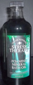 Village Naturals Stress Therapy Foaming Mineral Bath Oil