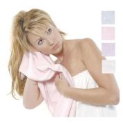 Bath Accessories Microfiber Hair Towel, Pink