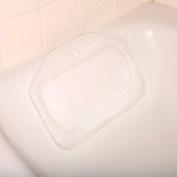 *New* Bath Pillow / Bath Cushion - White Strong Suction Cups