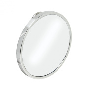 Better Living Products Twist 'n Lock Suction Mount Anti-Fog Shower Mirror, Chrome