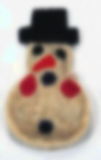 Loofah-Art Natural Loofah Scrubber~Snowman