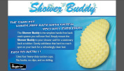 Shower Buddy Hands-free Scrubbing System *Hot New Product* Lg 45.7cm X 35.6cm