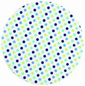 Ore Originals Living Goods Shower Cap Polka Dot Blue