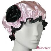 Kella Milla . Satin Shower Cap - Pink & Rose