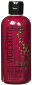 Vitabath Bath and Shower Gel, Wild Red Cherry, 350ml