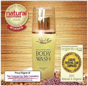 NaturOli Rich & Invigorating Body Wash - 250ml Award winning natural formulation! Absolutely luxurious for bath or shower. Wonderful organic scent that is both calming and uplifting. You'll feel the NaturOli difference morning or night!