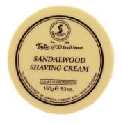 Taylors of Old Bond Street (Tobs10) - Sandalwood Shaving Cream 150g - Made in England