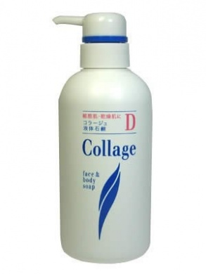 Collage D Liquid Soap 400ml | Body Wash | for Sensitive Skin, Dry Skin ( Japanese Import )