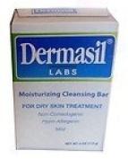 Dermasil Moisturising Cleansing Bar Soap for Dry Skin Treatment, Non-Comedogenic, Hypoallergenic & Mild, 120ml