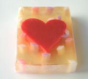 Red Heart Glycerin Soap
