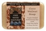 One with Nature Soaps Almond Bar Soap, Coco-Walnut, 210ml