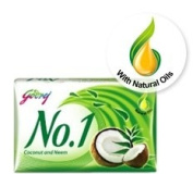 Godrej No. 1 Coconut Neem Soap 115gram