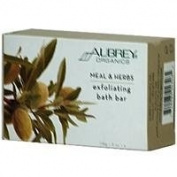 Aubrey Organics - Meal & Herbs Exfoliation Skin Care Bar, 110ml bar soap