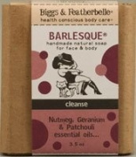 Biggs & Featherbelle - Barlesque Handmade Natural Soap Nutmeg, Geranium & Patchouli Essential Oil - 100ml