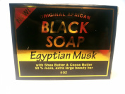 Original African Black Soap Egyptian Musk 160ml