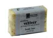 River Soap Co. Vetiver Soap Triple Milled All Vegetable 130ml