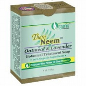 Oatmeal Lavender & Neem Oil Soap Organix South 120ml Bar Soap
