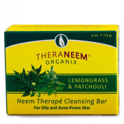 Lemongrass Patchouli & Neem Oil Soap Organix South 120ml Bar Soap