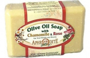 Aphrodite Olive Oil Soap - Chamomile & Rose