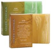 Mixed Chicks Bar Soap - Sweet Pea