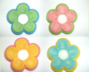 4 Shape Flowers Soaps in Glycerin