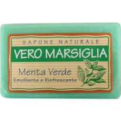 Green Mint Nesti Dante Marseille Soap, All Natural Italian Soap