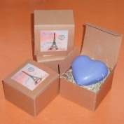 Heart Shaped Soap - Lavender Fragrance - Made in Provence