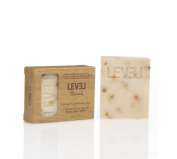 Level Naturals Patchouli & Orange Peel 100% Pure Vegan Gluten Free Natural Soap 180ml