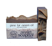 Pine Tar Neem Oil Organic Bar Soap