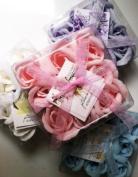 Rose petals shapes soaps